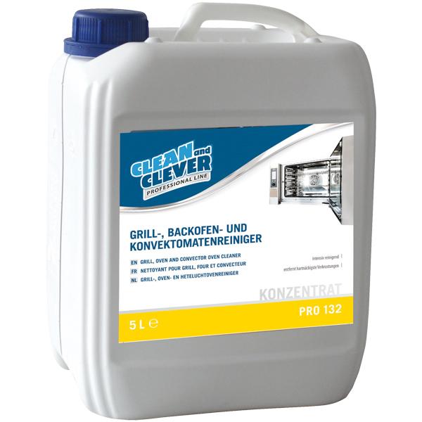 CLEAN and CLEVER PROFESSIONAL Grill-, Backofen- und Konvektomatenreiniger PRO 132