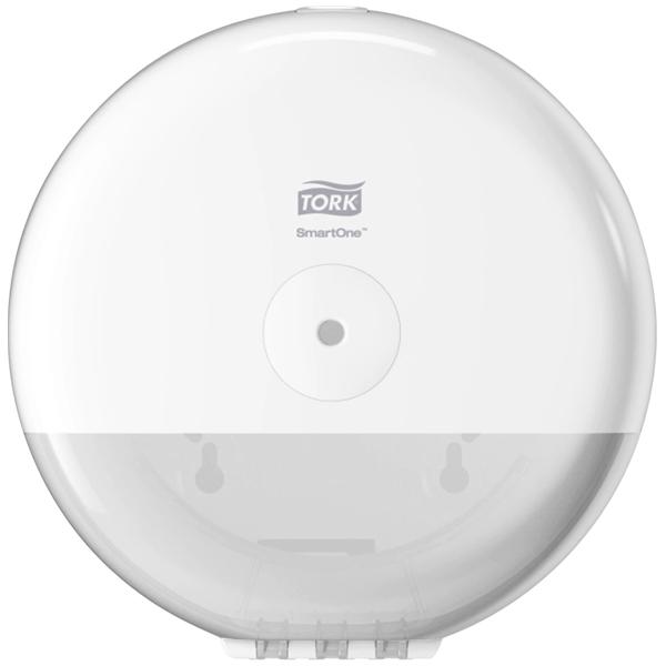 Tork SmartOne® Mini Spender für Toilettenpapier Weiß T9, Elevatio