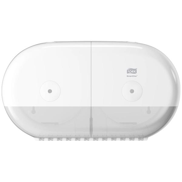 Tork Doppelrollen Toilettenpapierspender SmartOne Mini T9 weiß online kaufen - Verwendung 1