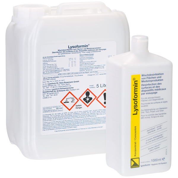 Lysoform Lysoformin® Desinfektionsmittel 5 Liter