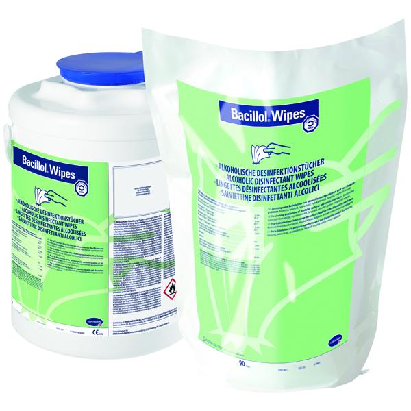 Hartmann Bacillol®l Wipes Flächendesinfektionstücher 4 x 90 Stück