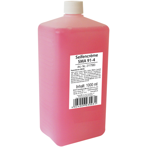 CLEAN and CLEVER SMART Seifencreme rose SMA 91-4