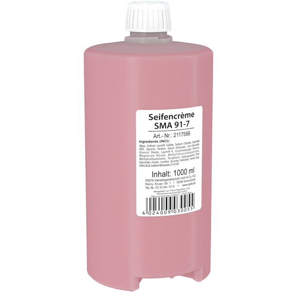 CLEAN and CLEVER SMART Seifencreme rose SMA 91-7