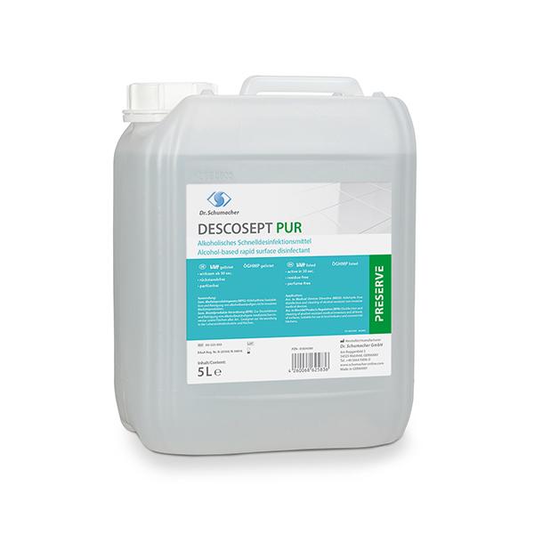 Dr.Schumacher DESCOSEPT pur Flächendesinfektion 1 Liter