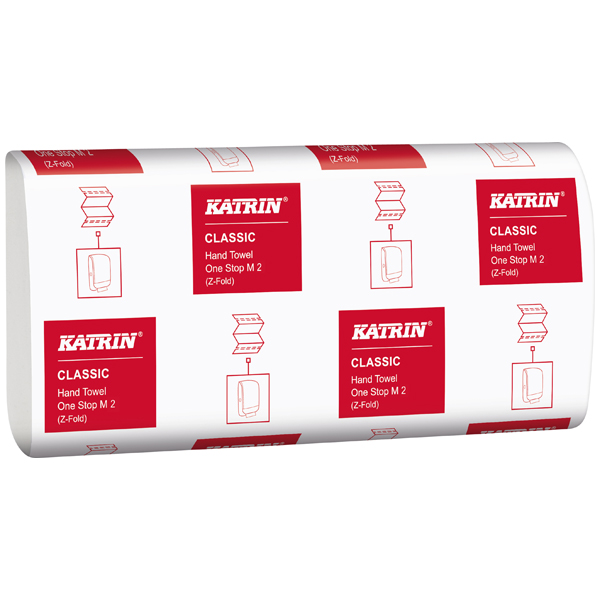 Katrin Classic One-Stop - Falthandtuchpapier M2