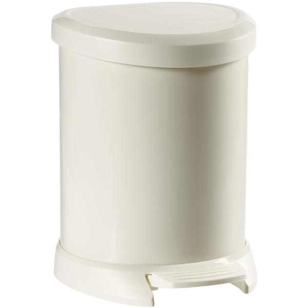Curver Treteimer 5 Liter weiß