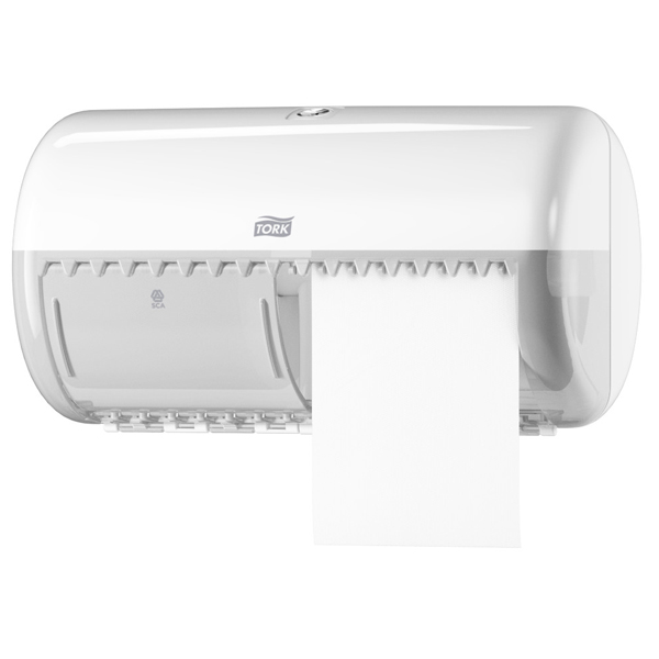 Vorschau: Tork Kleinrollen Toilettenpapier T4 Advanced ( 64 Rollen ) online kaufen - Verwendung 4