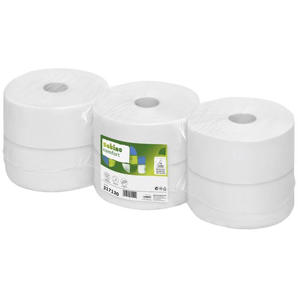 WEPA Comfort Jumbo Toilettenpapier hochweiß
