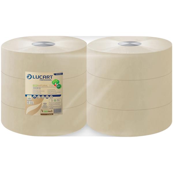 Lucart ECO Natural 350 - Jumbo Toilettenpapier
