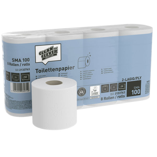 CLEAN and CLEVER SMART Toilettenpapier SMA 100