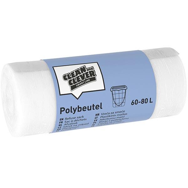 CLEAN and CLEVER SMART Polybeutel 60 - 80 Liter SMA 76 online kaufen - Verwendung 1