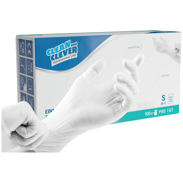 CLEAN and CLEVER Professional Einmalhandschuhe PRO 157