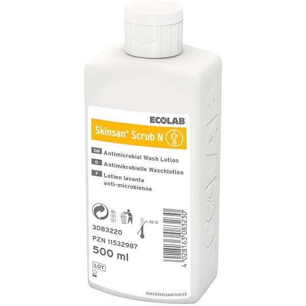 ECOLAB Skinsan®Scrub N antimikrobielle Waschlotion 500 ml