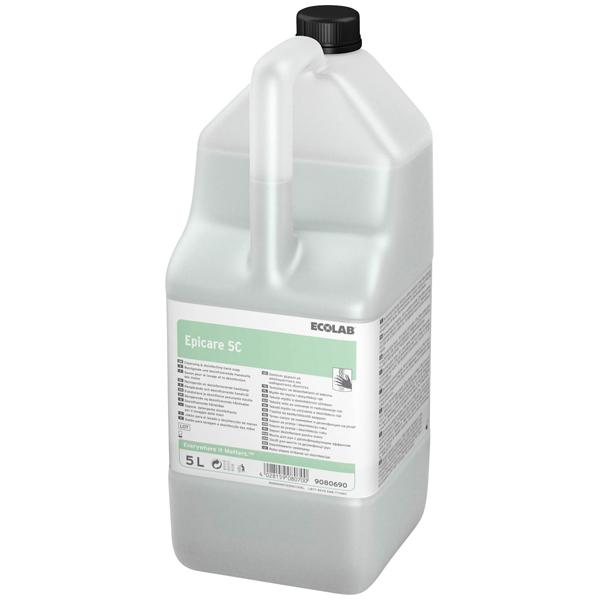 ECOLAB Epicare 5C antimikrobielle Waschlotion 5 Liter