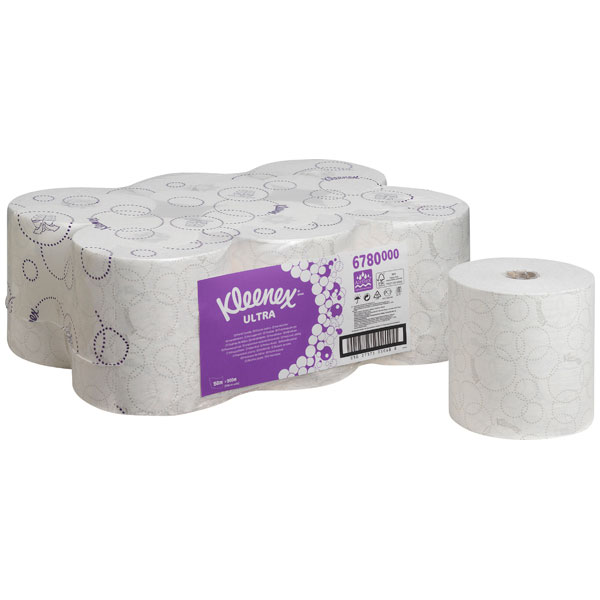 KLEENEX® Papierhandtücher Ultra Rolle weiß 6780