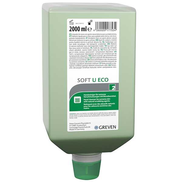 Greven® Soft u ECO Handreiniger 6 x 2 Liter