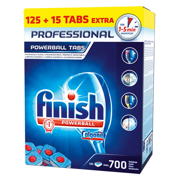 Calgonit Finish Professional Powerball Tabs 140 Stück
