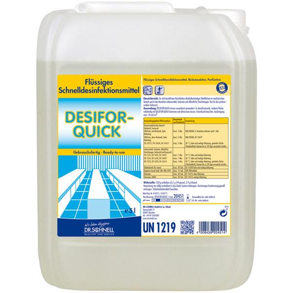Dr.Schnell Desifor-Quick Flächendesinfektion 5 Liter
