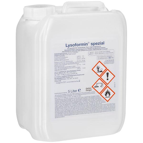 Lysoform Lysoformin® spezial Desinfektionsmittel 5 Liter online kaufen - Verwendung 1