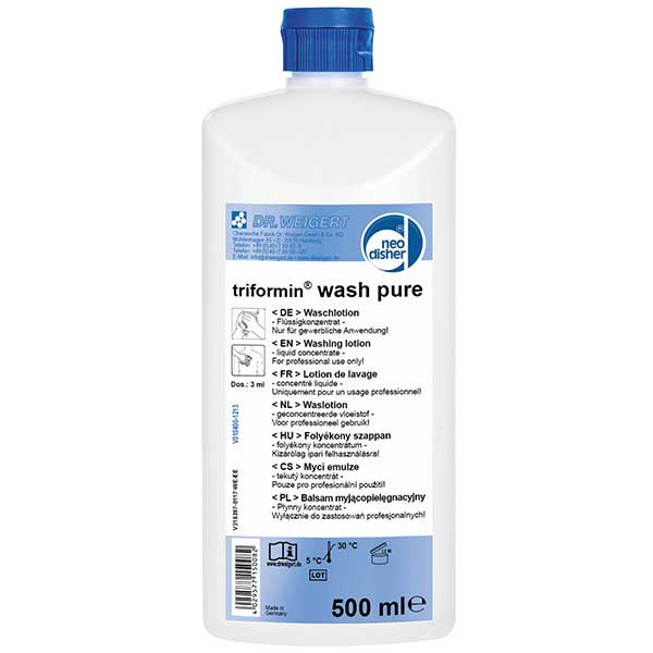 Dr.Weigert neodisher triformin® wash pure Waschlotion 500 ml online kaufen - Verwendung 1
