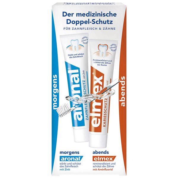 Aronal/Elmex Mundpflege-Set 2 x 12 ml