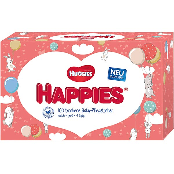 Huggies Happies Pflegetücher