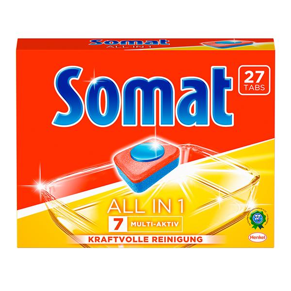 Somat 7 All in 1 Maschinen- Spültabs