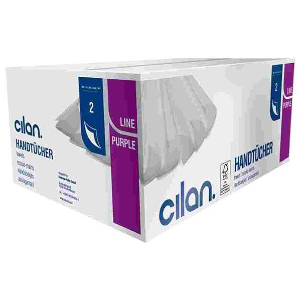 Cilan Tissue H20 PurpleLine - Falthandtuchpapier