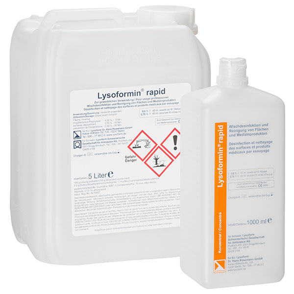 Lysoform Lysoformin® rapid Flächendesinfektion 1 Liter