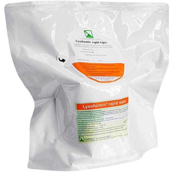 Lysoform Lysoformin® rapid wipes Desinfektionstücher 4x100 Stück