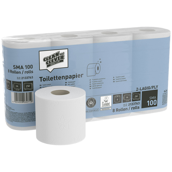 CLEAN and CLEVER SMART Toilettenpapier SMA 100