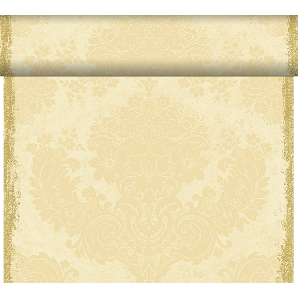 Duni Tischläufer 40 cm x 24 m (perforiert) royal-cream