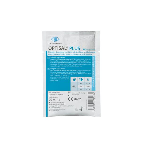 Dr.Schumacher Optisal® Plus Flächendesinfektion 300 x 20 ml