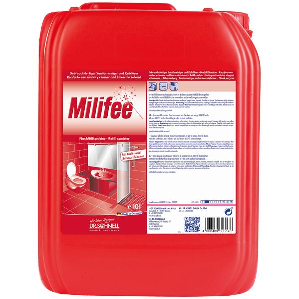 Dr.Schnell Milifee Sanitärreiniger 10 Liter