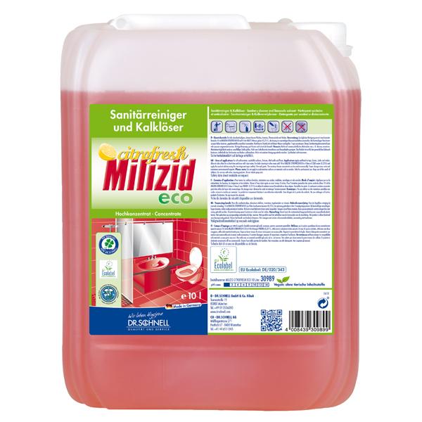 Dr.Schnell Milizid Citrofresh ECO Sanitärreiniger 10 Liter