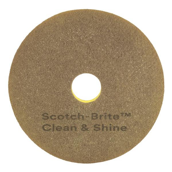 """3M Scotch-Brite Maschinenpad beige 17"""""""