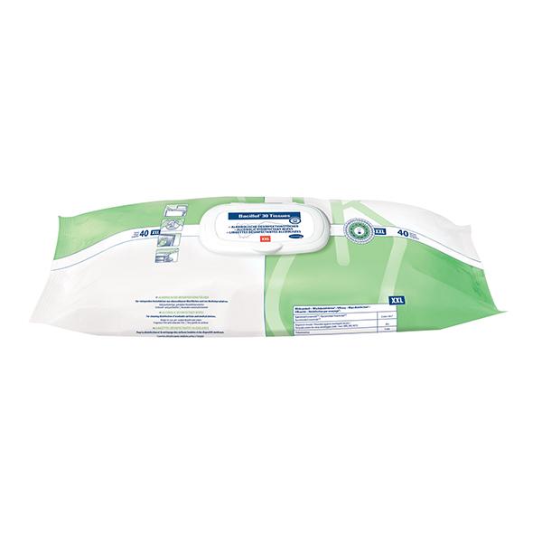 Hartmann Bacillol®30 Tissues XXL Desinfektionstücher 6 x 40 Tüche