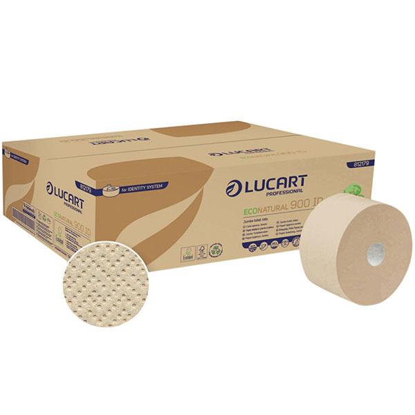 Lucart ECO Natural 900ID - Jumbo Toilettenpapier