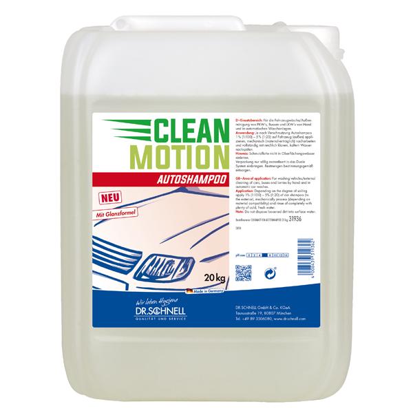 Clean Motion Autoshampoo 20kg