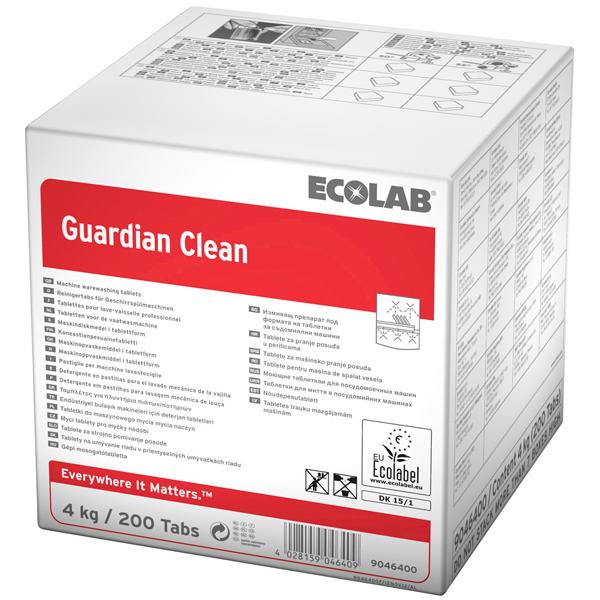Guardian Clean Reinigertabs mit Öko-Label