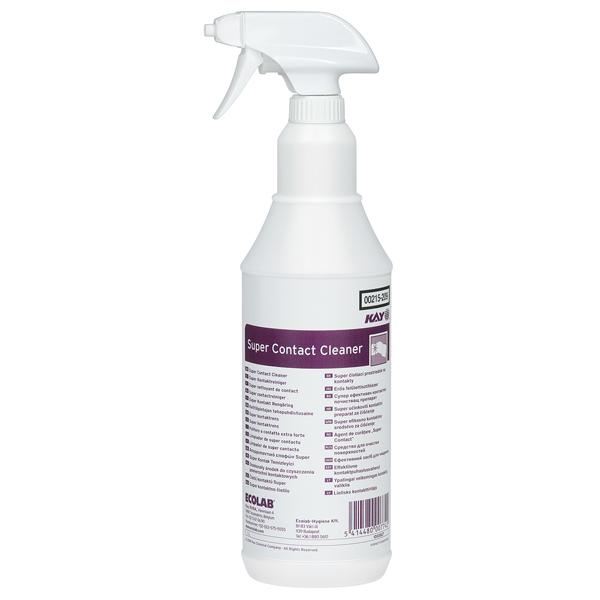 ECOLAB Kay® Super Contact Cleaner Fettlöser  4 x 1 Liter