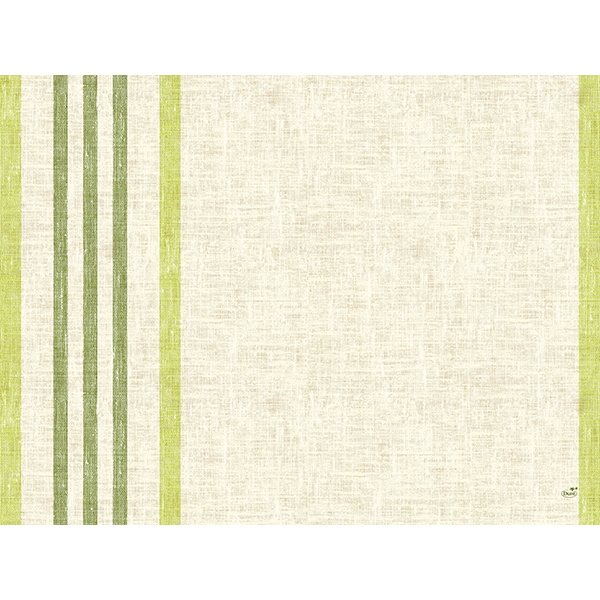 Duni Papier-Tischset 30 x 40 cm raya-kiwi