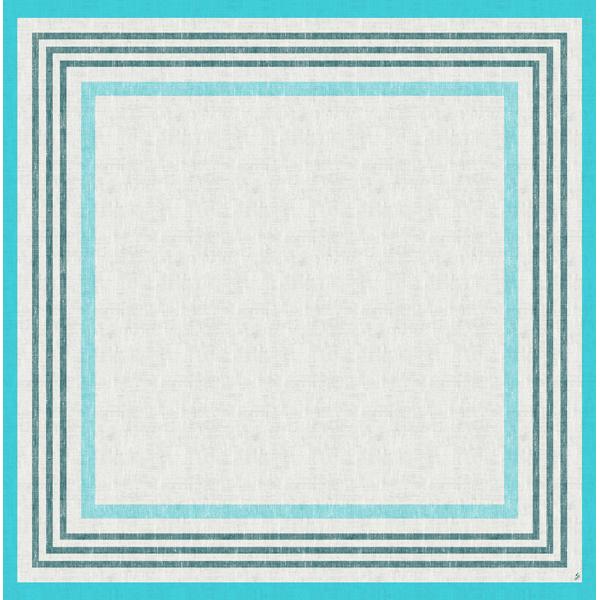 Duni Mitteldecke 84 x 84 cm raya-blue