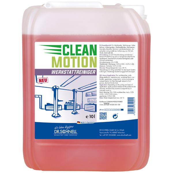 CleanMotion Werkstattreiniger
