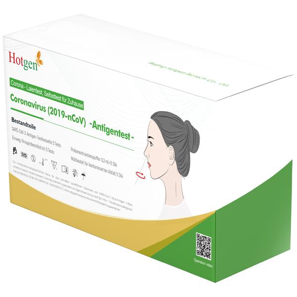 NOVEL Hotgen COVID-19 Antigen-Schnelltest - 5 Stück