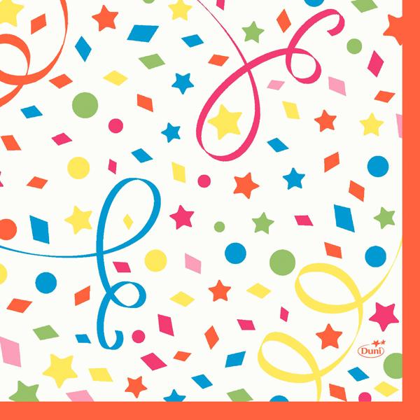 Vorschau: Duni Servietten 33 x 33 cm confetti online kaufen - Verwendung 2