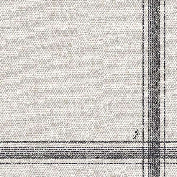Vorschau: Duni Dunilin-Servietten 40 x 40 cm cocina-black online kaufen - Verwendung 2