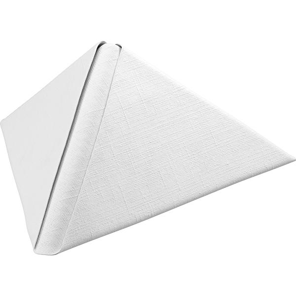 Duni Dunilin-Servietten 40 x 40 cm brilliance-weiß