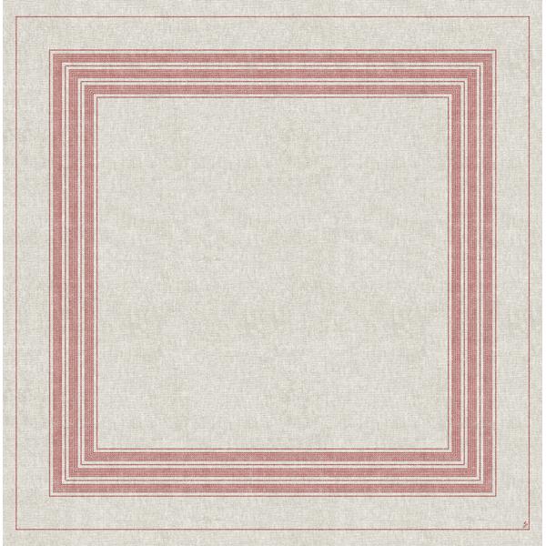Duni Dunisilk-Plus Mitteldecke 84 x 84 cm cocina-bordeaux