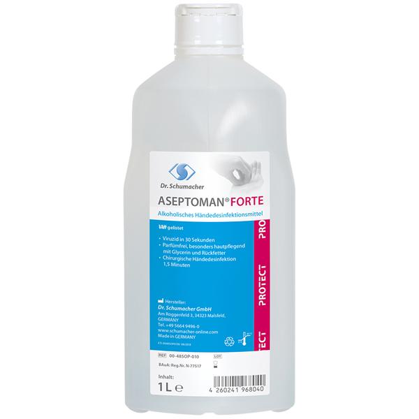 Dr.Schumacher Aseptoman® Forte Händedesinfektionsmittel 1 Liter